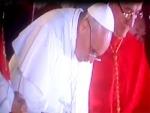 François 1er se confie à la prière dès son élection