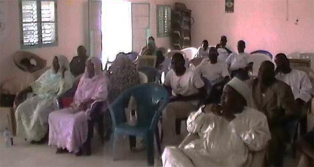 Une vue partielle des participants à cérémonie de lancement de la journée mondiale de l'Eau à Abéché